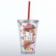 Candy-Filled Twist Top Tumbler - TEAM