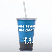 Twist Top Tumbler - One Team, One Goal
