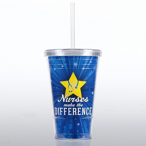 Nurses Make the Difference Twist Top Tumbler