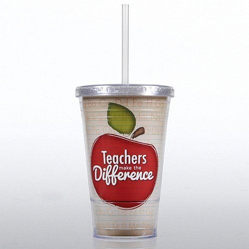 Teachers Make the Difference Twist Top Tumbler