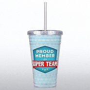 Twist Top Tumbler - Proud Member of a Super Team