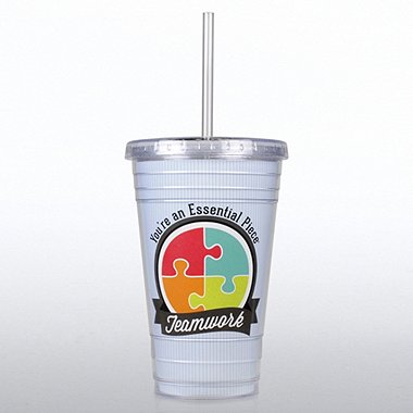 Twist Top Tumbler - Teamwork: You're an Essential Piece