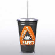 Twist Top Tumbler - Serious About Safety