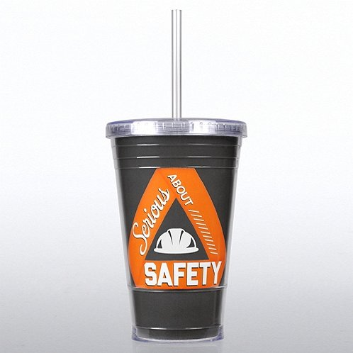 Serious About Safety Twist Top Tumbler