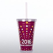 Twist Top Tumbler - Making a Difference 2016