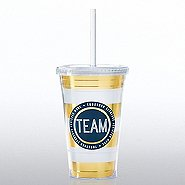 Hollywood Twist Top Tumbler - TEAM