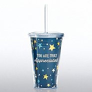 Hollywood Twist Top Tumbler - You are Truly Appreciated