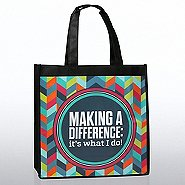 Stylin' Shopper Tote - Making a Difference: It's What I Do