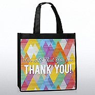 Stylin' Shopper Tote - For All That You Do, Thank You!