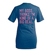 Team Gear Glitter Print T-Shirt
