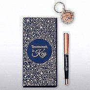 Charming Copper Gift Set - Teamwork is Key