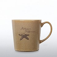 The Coffee Shop Ceramic Mug - Starfish: Making a Difference