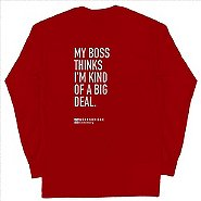 Custom Team T-Shirt Long Sleeve- Gildan Ultra Cotton