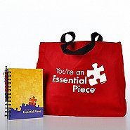 Journal, Pen & Tote Gift Set - Essential Piece