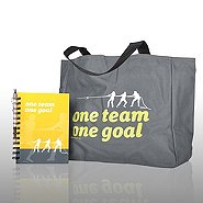 Journal, Pen, & Tote Gift Set - One Team, One Goal