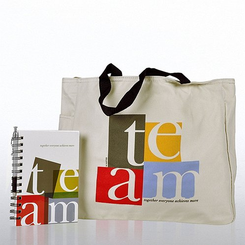 TEAM Journal, Pen & Tote Gift Set