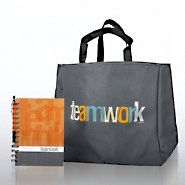 Journal, Pen & Tote Gift Set - Teamwork