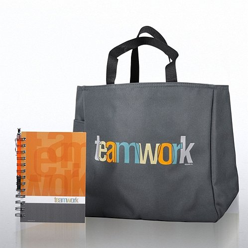 Teamwork Journal, Pen & Tote Gift Set