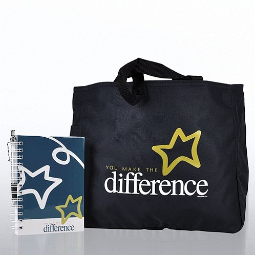 You Make the Difference Journal, Pen & Tote Gift Set