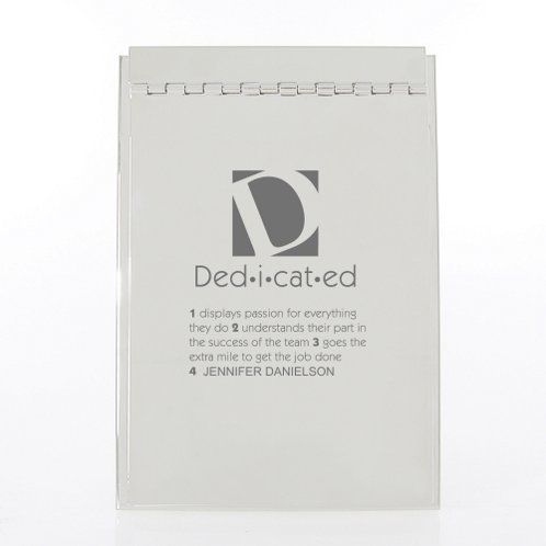 Defining Moments Executive Memo Pad Holder
