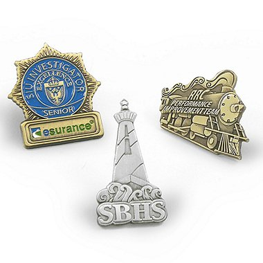 Custom Lapel Pin - Modify a Baudville Pin