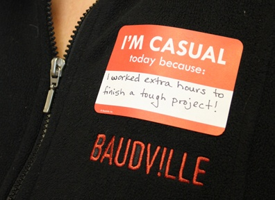 Casual Day Sticker