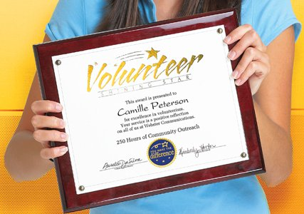 Volunteer Appreciation Certificate Template  Free Appreciation Certificate Templates