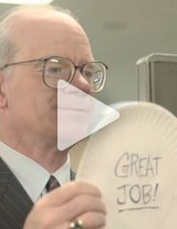 This funny employee recognition video is about a manager who is in desperate need of a more relevant employee recognition gift.