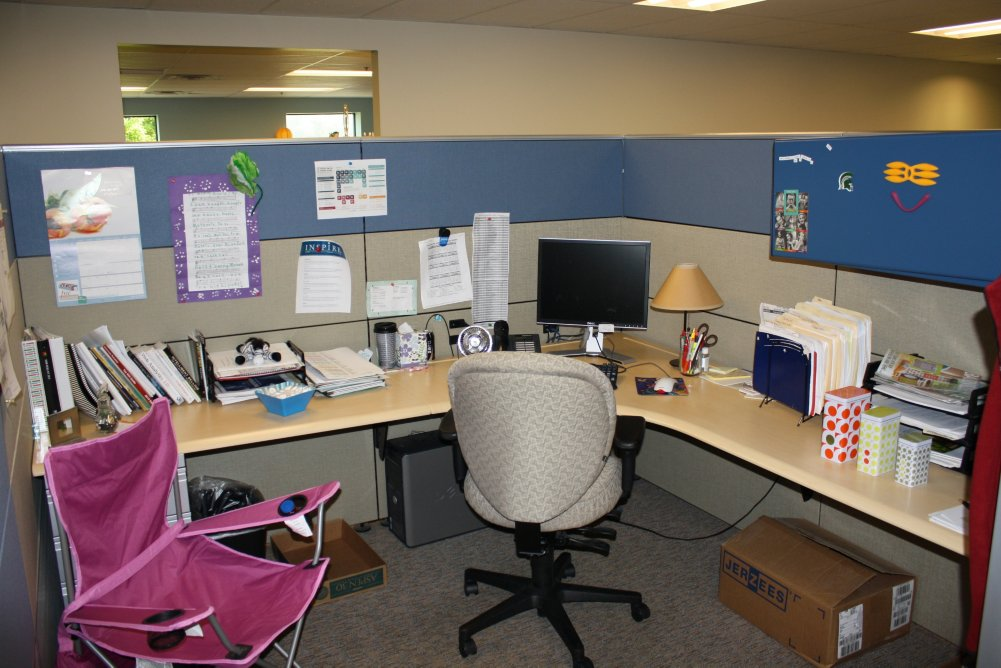 Cubicle at Baudville