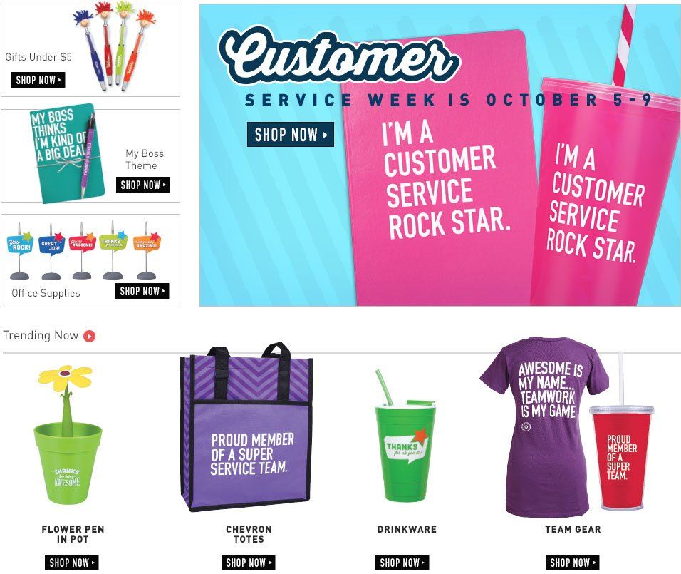 Shop for Customer Service Week