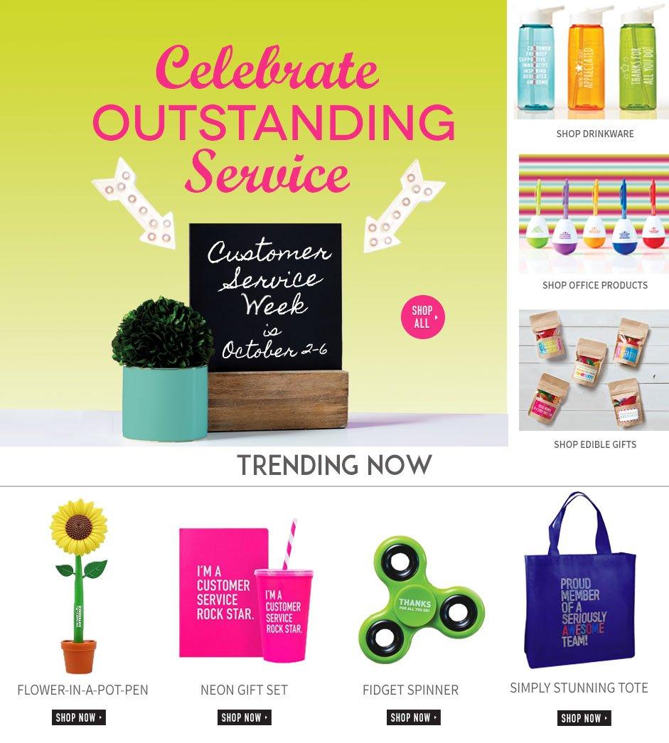 Shop for Customer Service Week