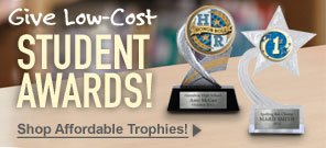 Give Low-Cost Student Awards - Shop Now!
