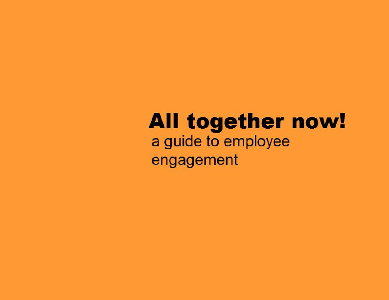 Download the Employee Engagement ebook!