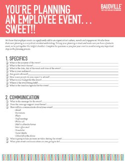Download the Event Planning Checklist