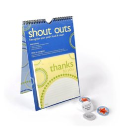 Shout Outs Peer Recognition Program