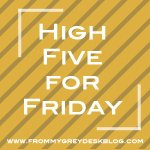 Read more High Five for Friday posts