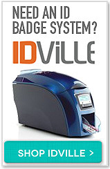 Need an ID badge system?. Shop IDville button