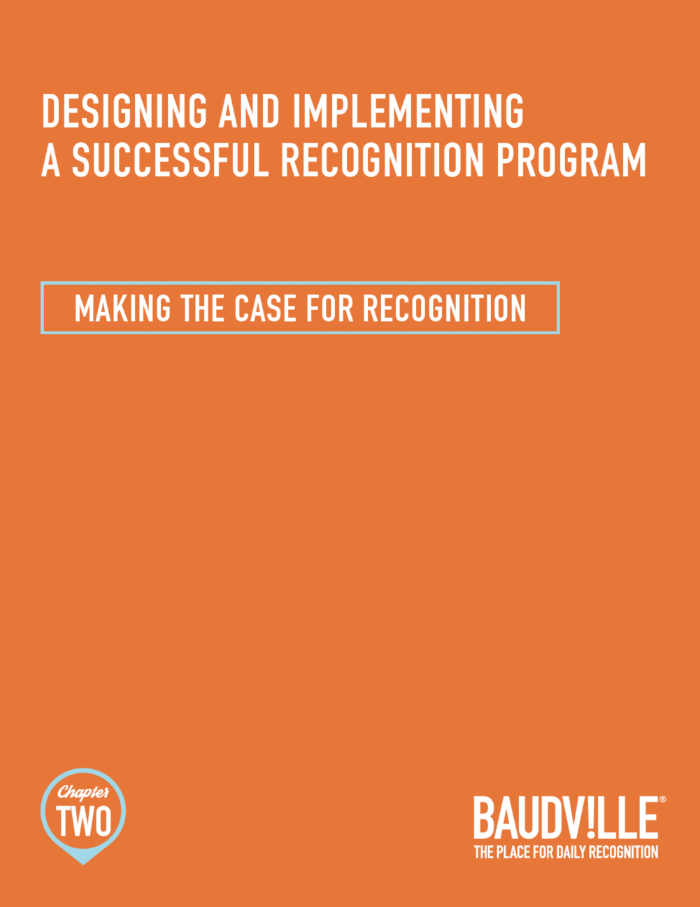 The Joy of Recognition: Chapter Two