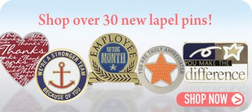 Shop over 30 New Lapel Pins