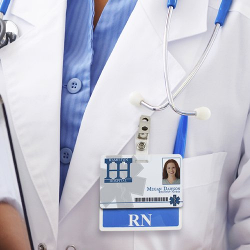 Medical Position Identity Cards at IDville.com