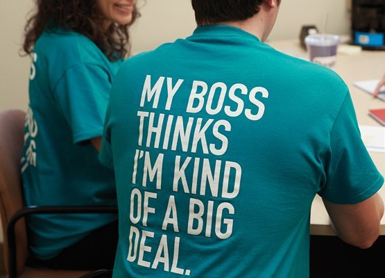 My Boss Thinks I'm A Big Deal Team Shirt