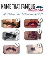 Name That Mustache Movember Activity