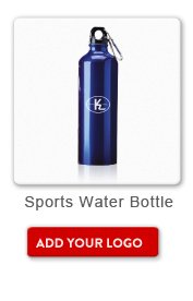 Promotional Product Sports Water Bottle, Add your logo button