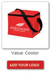 Value Cooler, Add your logo button