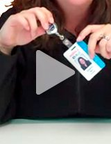 Watch this product video to learn more about theme badge reels.