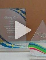 Watch this product video to learn more about these beautiful awards!