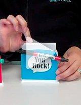 Watch this product video to get a closeup of this handy, functional desk caddy gift set!