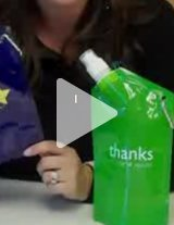 Watch this product video to learn more about these water bottles!