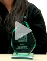 Watch the product demo video to learn more about Jade Glass award trophies for your next award presentation!