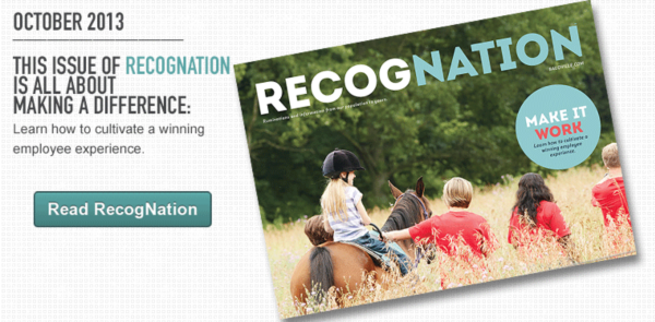 RecogNation, An Employee Recognition Publication
